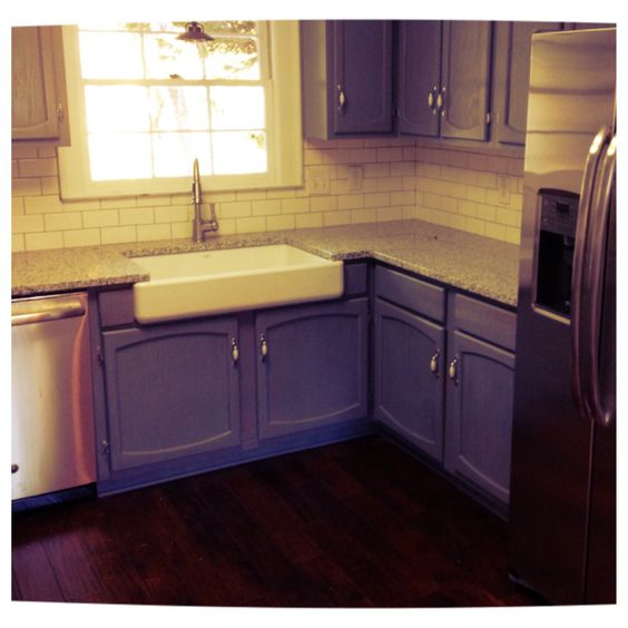 Urban farmhouse kitchen acacia engineered hardwood floors for Urban farmhouse kitchen