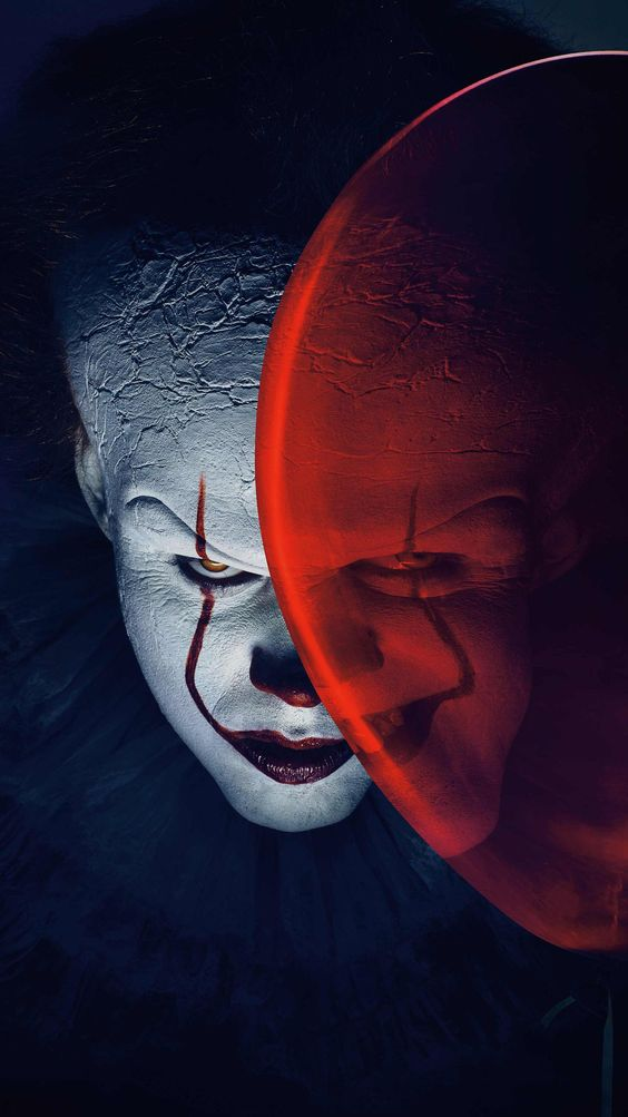 It 2017 Phone Wallpaper Moviemania Joker Iphone Wallpaper Scary Wallpaper Pennywise The Clown