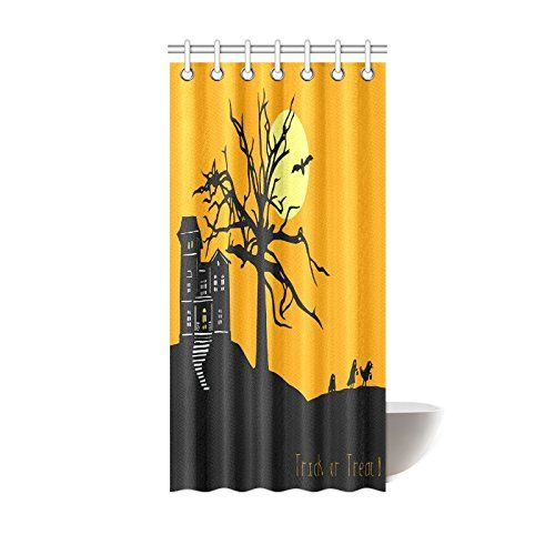 Pin On Halloween Shower Curtain