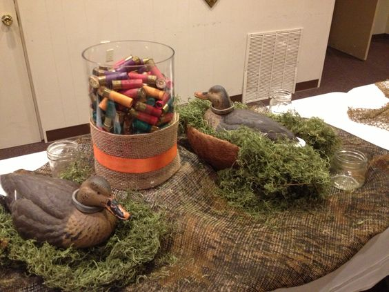 Decorations On Our Buffet Table.