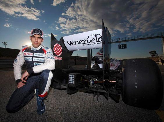 Pastor Maldonado, Venezolano corredor de la Formula 1