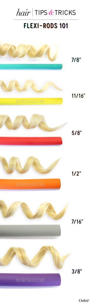 Flexi Rods 101: How to Create Heatless Curls :http://www.outretalks.com/flexi-rods-101-how-to-create-heatless-curls/