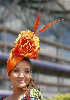 The hats at Royal Ascot (AP)
