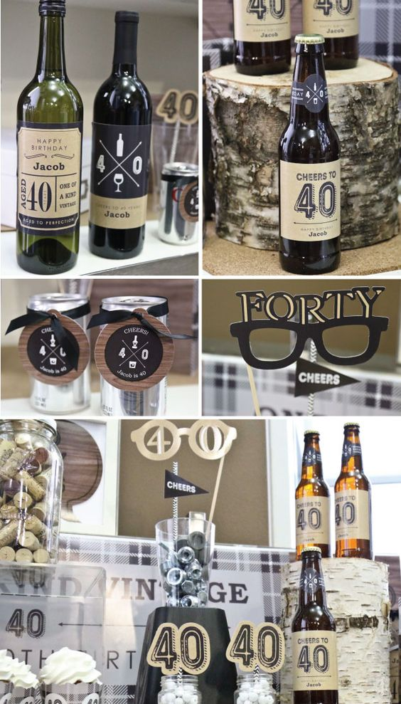 Pinterest the world s catalog of ideas for 40th birthday party decoration ideas for men