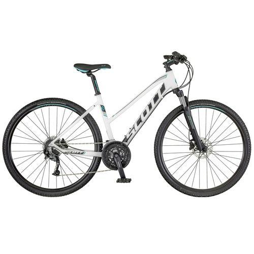 Scott Sub Cross 30 Lady 2018 White Black 1 City Bike