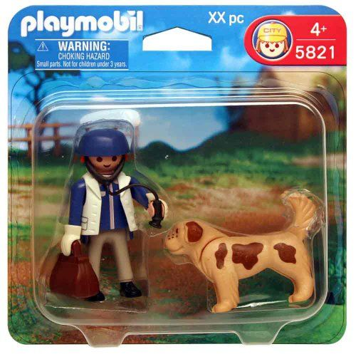 $4.89 Playmobil 5821 Animal Clinic: Vet with Dog  From PLAYMOBIL®   Get it here: http://astore.amazon.com/toys4kids09-20/detail/B003BKR7KM/192-7556116-2842054