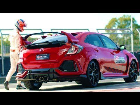 2019 Honda Civic Type R Driven By Jenson Button Set Lap Track Record Youtube Honda Civic Type R Honda Civic Civic