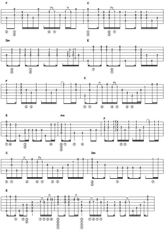 Guitar guitar tablature hotel california : Guitar : hotel california tabs guitar lesson Hotel California Tabs ...