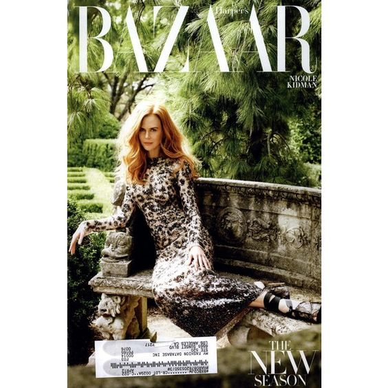 Harper's Bazaar Cover February 2011 - MyFDB ❤ liked on Polyvore featuring covers and nicole kidman