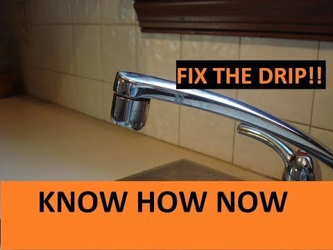 How To Fix A Dripping Faucet Youtube Bathroomfaucetsdripping Faucet Bathroom Faucets