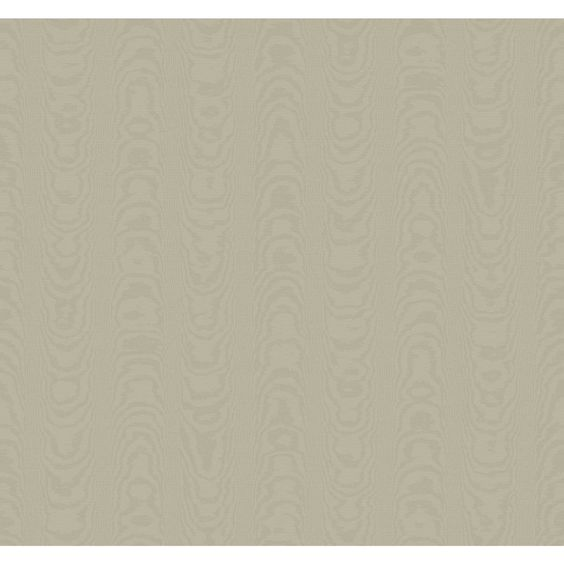 """Williamsburg Palace Moire 27' x 27"""" Abstract Wallpaper"""