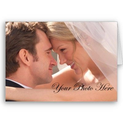 Custom Wedding Thank You Cards. Add your photo for free!