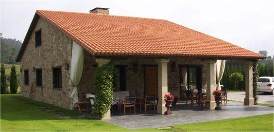Google on pinterest - Casa rusticas gallegas ...