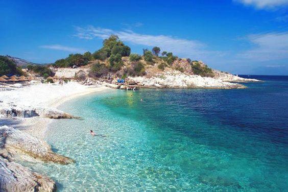 Kassiopi Beach, Corfu, Ionian sea, Greece @jdcsince1993 11 and a bit weeks