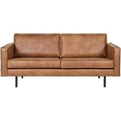 Lounge Sofa In Cognac Braun Recycling Leder Basilicana In 2020 Kunstleder Sofa Kissen Sofa Und Retro Sofa
