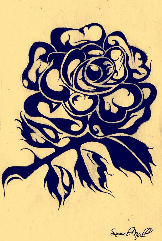 Tribal England Rugby Rose England Tattoo Rugby Wallpaper Rugby Tattoo