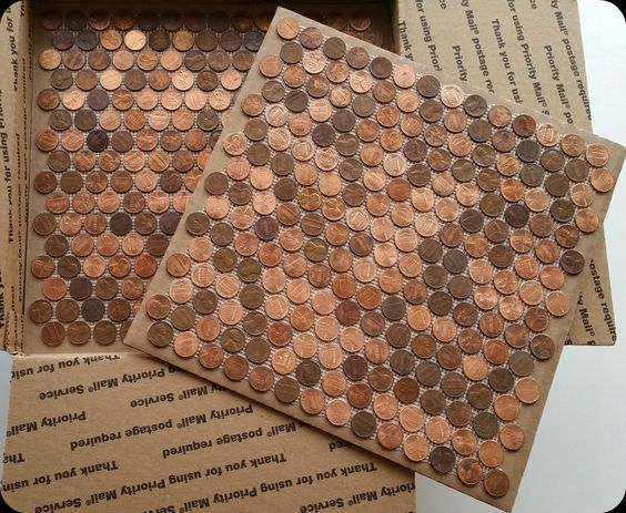 Superb Forget Him Knot  Penny Backsplash Diy/ For The Love Of Copper! | Home Decor  Ideas | Pinterest | Forget, Kitchens And House