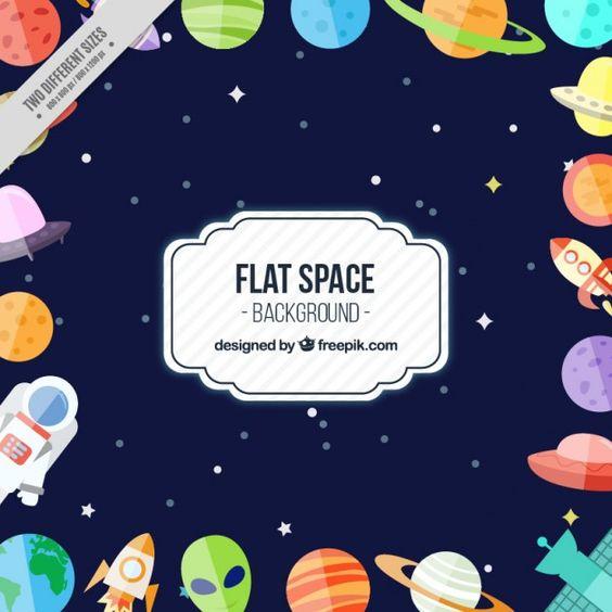 Convite espacial.