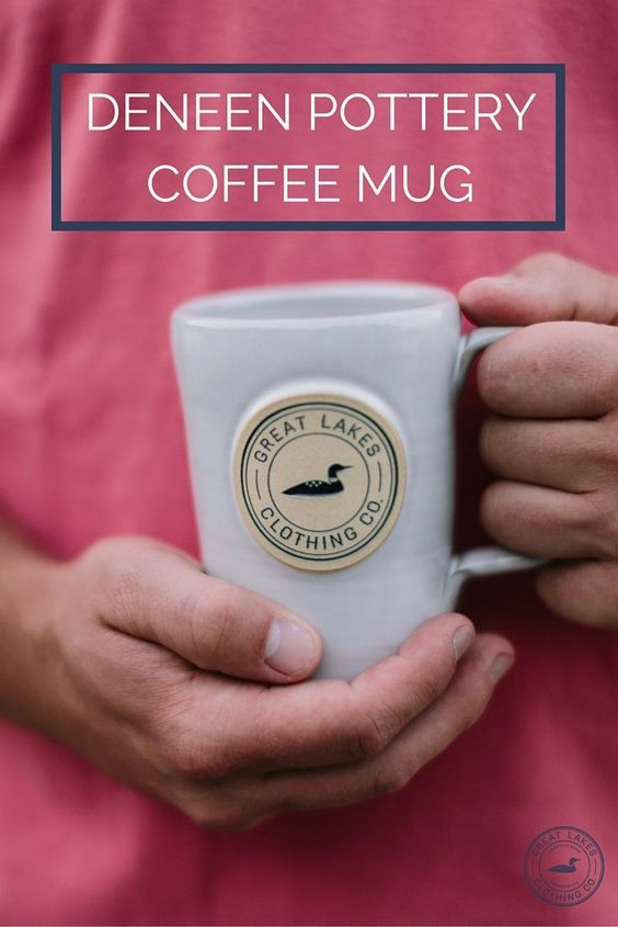Sometimes a hot cup of coffee is the perfect way to jumpstart an early morning at the cabin. We worked closely with Deneen Pottery in St. Paul, MN to design these classic handmade mugs.
