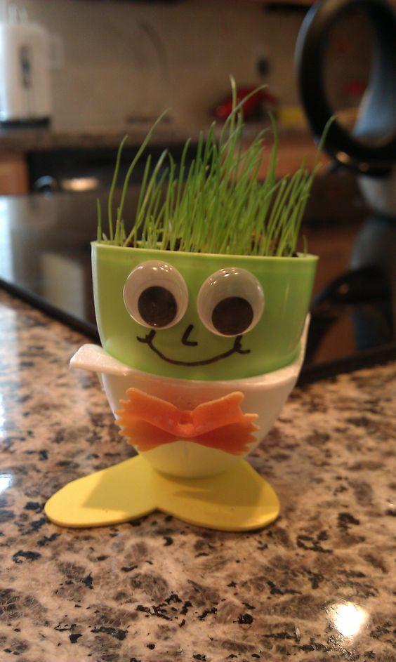 Pinterest the world s catalog of ideas for Plastic egg carton crafts