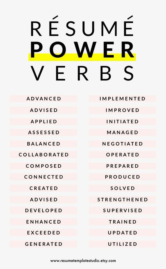 Use These Power Words In Your Resume And Improve Your Chance Of Being Hired Resumetemplates Resumedes Resume Writing Job Resume Cover Letter For Resume