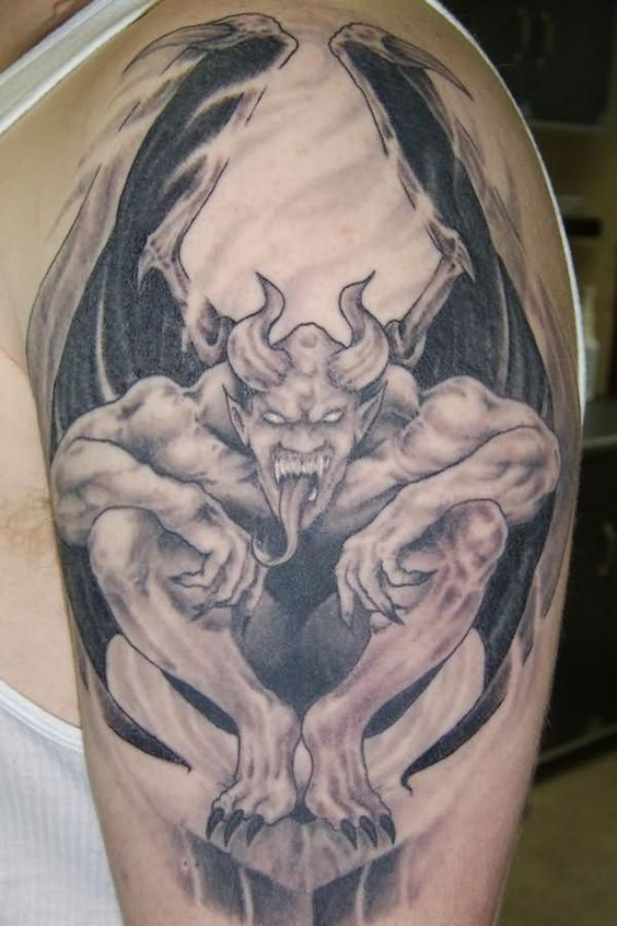 gargoyle tattoo patterns | Posted in Gargoyle Tattoos ...