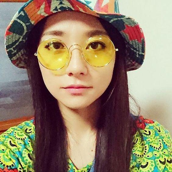 黄色いサングラスの木村文乃