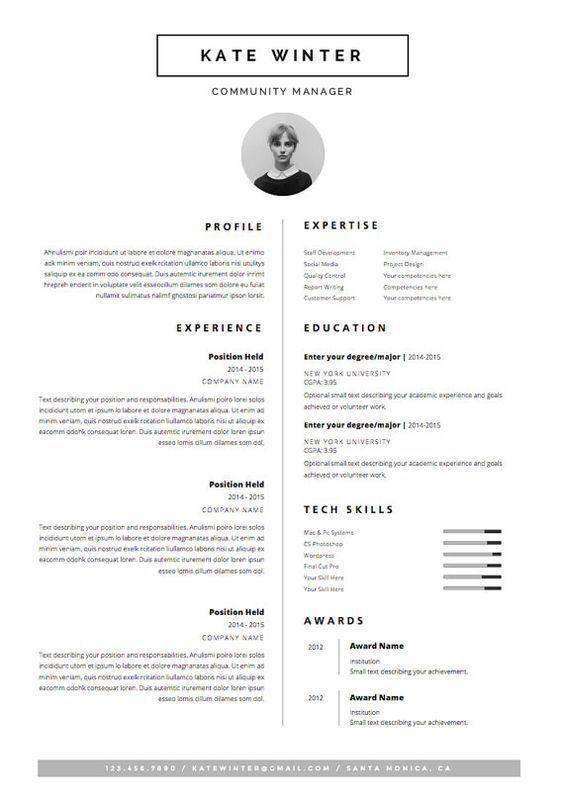 Business Infographic Business Infographic Curriculum Vitae