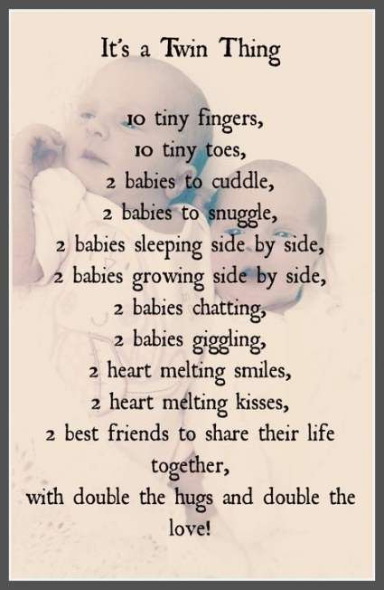21 Ideas For Baby Shower Quotes For Boys Poems Life Twin Quotes Cute Twins Twin Quotes Funny