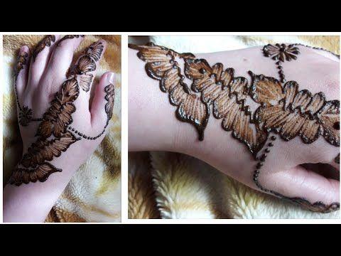 نقش الخطفة بالإبرة سهل و بسيط Youtube Henna Designs Hand Tattoos Henna Hand Tattoo