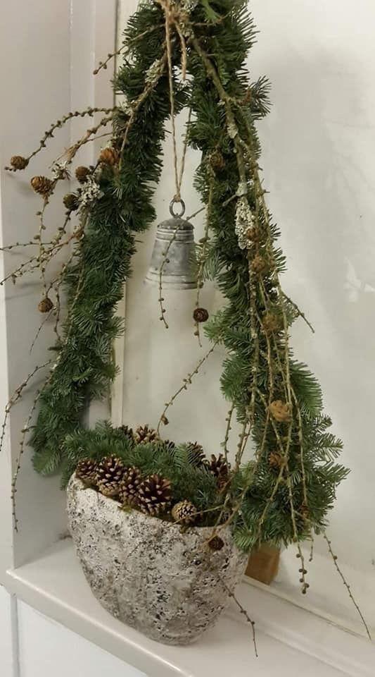 Maillot De Bain Liebe Das Aussehen Dieser Kunst Das Holz Die Farben All Alles Wohna E In 2020 Easy Christmas Decorations Christmas Diy Simple Christmas Decor