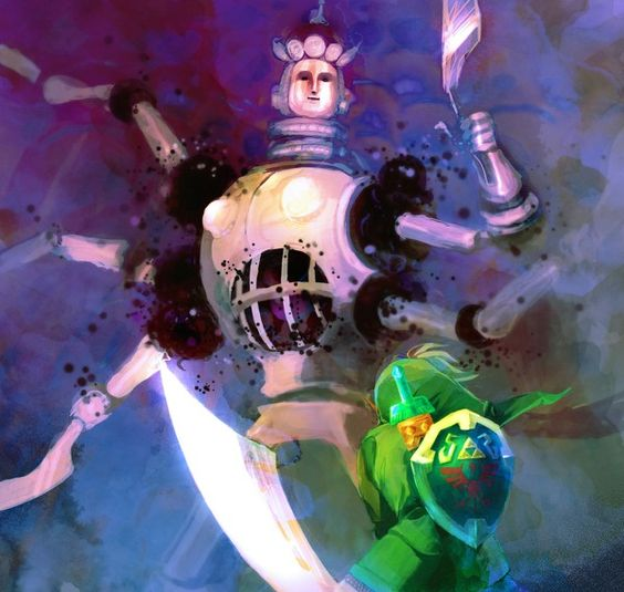 Koloktos - Boss of the Ancient Cistern in Skyward Sword
