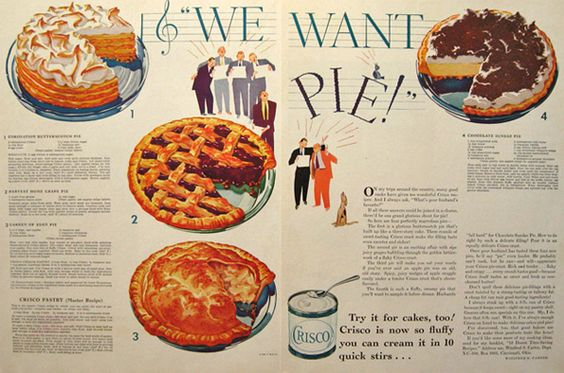 Dying for Chocolate: The Perfect Pie Crust and the History of Crisco