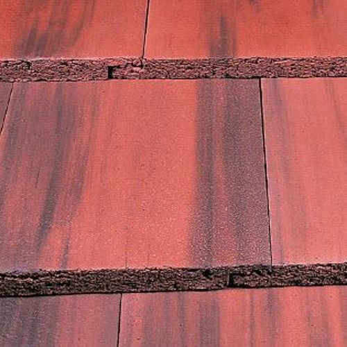 Marley Modern Roof Tile Old English Dark Red In 2020 Red Roof Roof Tiles Modern
