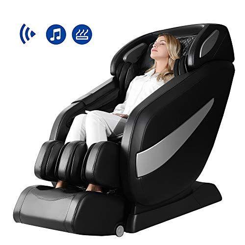 Massage Chair Zero Gravity Sl Track Massage Chair Full Body Shiatsu Massage Chair Recliner With Space Saving Auto Yogamozart Shiatsu Massage Chair Massage Chair Full Body Massage