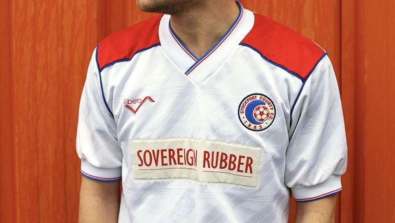 Ross Cooke Presents Stockport County Classic Football Shirts