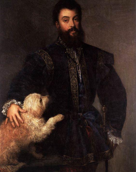Titien, Portrait de Frédéric Gonzague, 1529