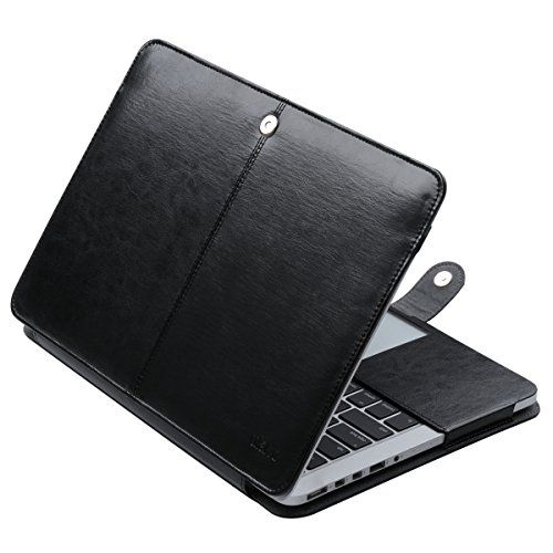 ULAK MacBook Pro 13 Retina Case, Premium PU Leather Sleev…