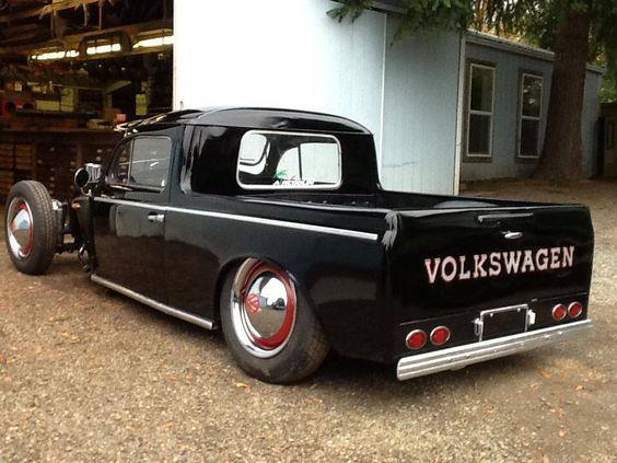 custom vw truck hot rods rat rods pinterest boys custom trucks and country. Black Bedroom Furniture Sets. Home Design Ideas