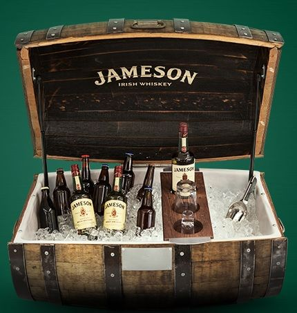 Jameson Irish Whiskey Barrel Cooler Sweepstakes WIN aCustom Labeled Barrel Cooler Enter DAILY-Ends 11/30