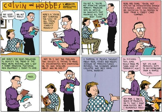 Calvin And Hobbes By Bill Watterson For March 23 2014 Calvin