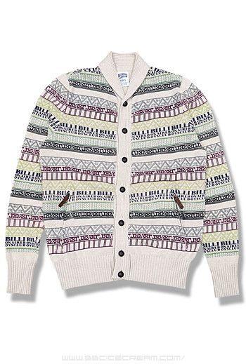 Billionaire Boys Club Nordic Shawl Cardigan