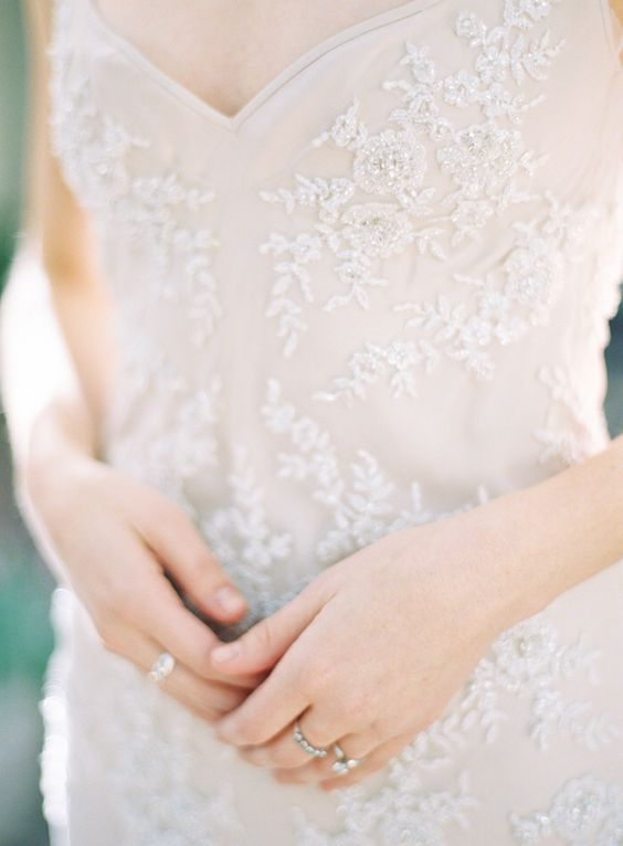 Details of my dress are similar to this. Would love a shot capturing the detailed beading like this!