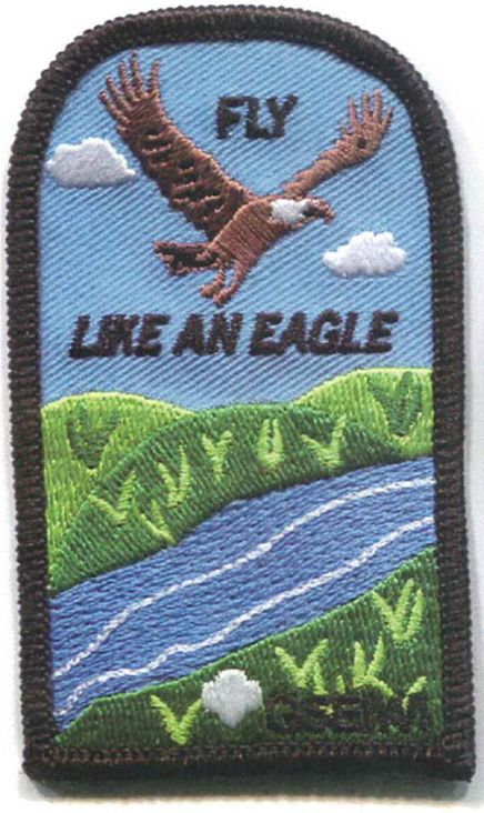 Fly Like An Eagle Patch {GSEIWI Council Patch}