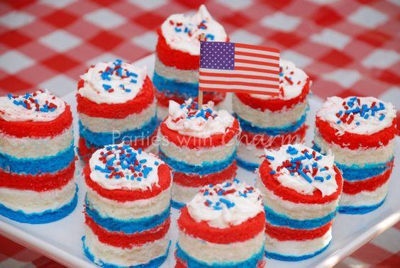 memorial day mini desserts