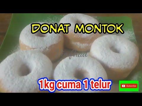 Donat Empuk Tanpa Kentang Hanya 1 Telur Untuk 1kg Terigu No Mikser Youtube Kentang Telur Donat
