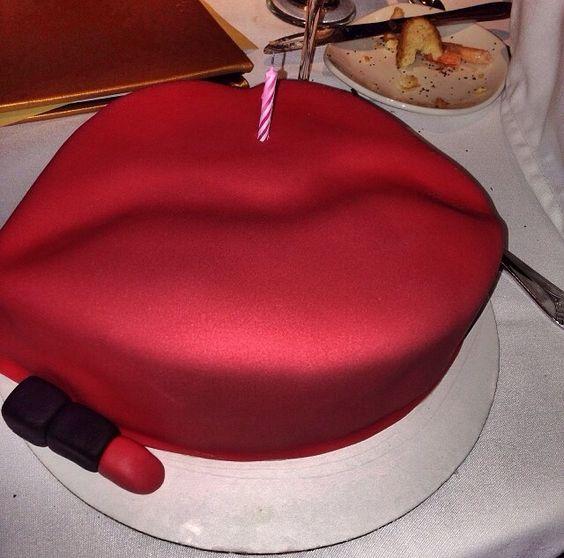 Lipstick Cake: It's Not Even My Birthday