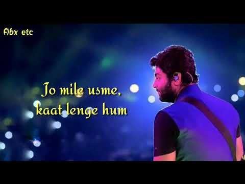 Muskurane Ki Wajah Tum Ho Lyrics Arjit Singh Youtube Youtube Music Artists Songs
