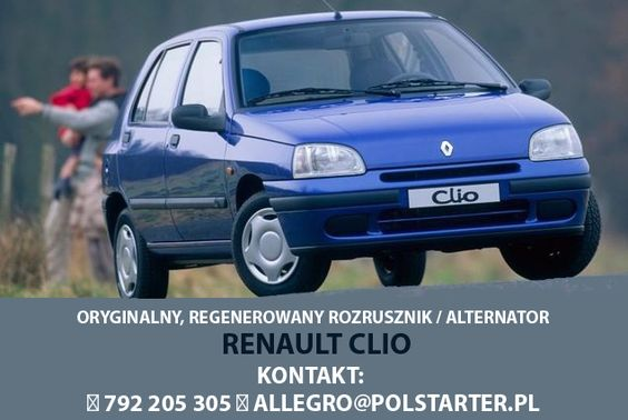 #Alternator   #Renault   #Clio    ▲ Zastosowanie A1253: Renault Clio I 1,2 1996-1998 Clio II 1,2 1998-  ▲ Bezpośredni link do aukcji: http://allegro.pl/show_item.php?item=6265521696&snapshot=MjAxNi0wOC0zMVQwNzo1NToxOVo7c2VsbGVyOzNiZDU0NGZkZGQzYWFmOTRlODdmZDZlYWJlMTE0YjNhMjcwOWYwZTEzMzhhZmI4YTNlOTA2ZjM4ZDdlNWQ5M2U=  ▲ Pozostałe aukcje:  ➤ http://allegro.pl/listing/user/listing.php?us_id=22287661  ▲ KONTAKT: 📲 792 205 305 ✉ allegro@polstarter.pl #rozrusznik   #polstarter