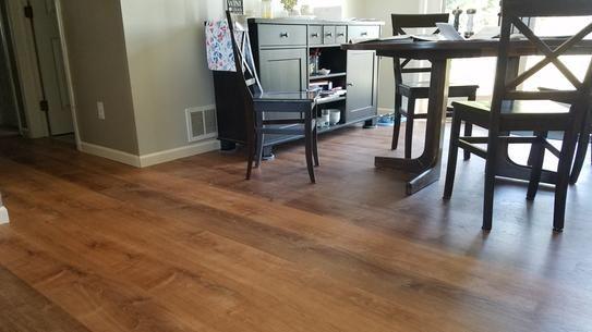 Dining Room Luxury Vinyl Plank Flooring Vinyl Wood Planks